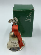 1993 Silverplated Engraved Bell - International Silver Co
