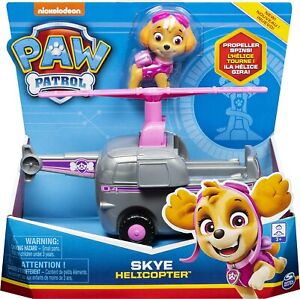Paw Patrol Skye Helicopter And Figure