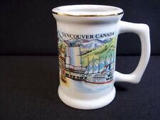 Vancouver Canada souvenir shot glass mug or toothpick holder  wrap around decal