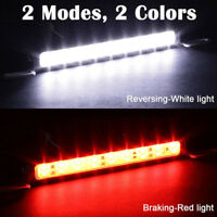 White Red Car 30LED Backup Light Bar Brake Reverse Rear License Plate Lamp strip