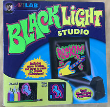 Art Lab Black Light Studio Lamp Projector Paint Paper Kids Art Home Project