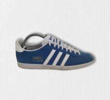 Adidas Original Gazelle OG G16183 UK 8 Blue White Suede Leather