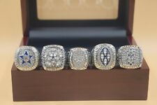 5pcs 1971 1977 1992 1993 1995 Dallas Cowboys Championship Ring //