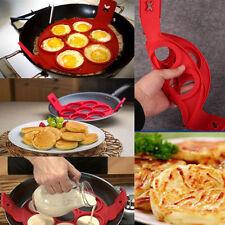 Practical Non Stick Pancake Pan Flip Breakfast Maker Egg Omelette Flipjack Tools