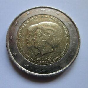 2 Euro commémorative PAYS-BAS 2013