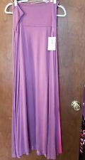 Lularoe Xl Purple Maxi Skirt