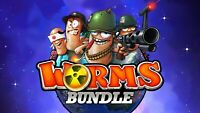 WORMS! WORMS! WORMS! BUNDLE! - Steam Key - REGION FREE - FAST DELIVERY & Bonus