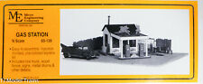 Micro Engineering Company N #65139 Gas Station w/Tow Truck (1940's Style) Kit