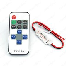 LED Controller Steuergerät Dimmer mit Funk Fernbedienung für einfarbig LED Strip