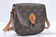 Authentic Louis Vuitton Monogram Saint Cloud PM Shoulder Bag M51244 LV 35156