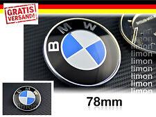 BMW Emblem 78mm Heckklappe Logo 51141970248 Blau Weiss E31 E39 E53 E65 E66 E223