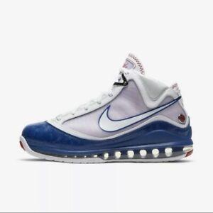 Nike Lebron VII 7 -Size 11.5 LA Dodgers Baseball Blue Style DJ5158-100 *INHAND*