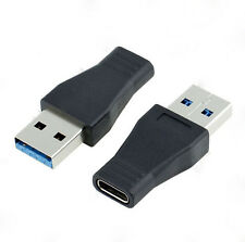 USB 3.0/2.0 (Type-A) Male to USB 3.1 (Type-C) Female Connector Converter Aadpter