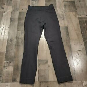 Spanx by Sara Blakely Black Womens Size XS High Rise Pull On Cropped Legging