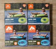 Lot Of 4 - Ozark Trail Inflatable River Lake Pool Rafting Water Inner Tube