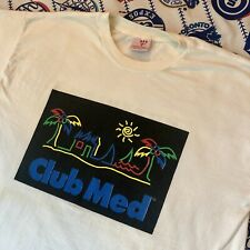Vintage Souvenir Club Med Huatulco Mexico Single Stitch T Shirt X Large