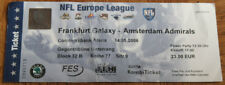 Old ticket 1999 NFL Europe Frankfurt Galaxy Amsterdam Admirals 2006 Germany NL
