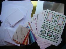 Red Hot Bed FRIEND MUM SISTER CARD KIT Card DECOUPAGE Env MIRRI CARD Verses FREE