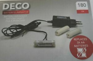 Batterie Ersatz Adapter 3 x AA Mignon Netzadapter Wandler 220V auf 4,5V Netzteil