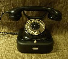 W28 altes antikes SIEMENS Telefon Bakelit Fernsprecher Telephone