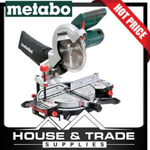 Metabo Mitre Saw 120mm 1350w 5000rpm KS 216 M LASERCUT 619216190