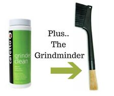 Coffee Grinder Cleaner Burrs 430gms+ Grindminder Brush Breville Baratza  Mazzer