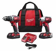 Milwaukee 2691-22 M18 18-Volt Cordless Power Lithium-Ion 2-Tool Combo Kit