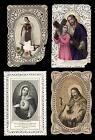santini merlettati-holy cards lace-canivets-spitzebildichen LOTTO N.295
