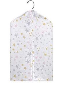 Bedtime Originals Unicorn Collection Diaper Stacker Hanging Storage Stars