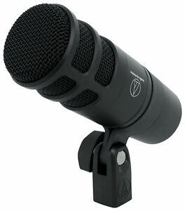 Audio Technica AT2040 Hypercardioid Dynamic Microphone Broadcast Podcast Mic