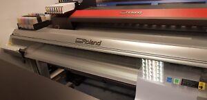 Roland RS640 Versaart Versacamm Sublimation Wide Format Printer With Bulk Ink*