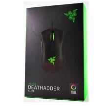 Razer DeathAdder Elite 2016 Chroma Ergonomic Gaming Mouse 16,000 DPI New JE