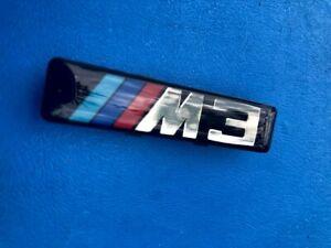 2 X Logos BMW M3 M Gitter Seitliche Flügel E46 Plakette Original 72127900605 OEM