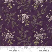MODA Fabric ~ SWEET VIOLET ~ by Jan Patek (2221 12) Violet - by 1/2 yard