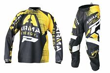 "Progrip MX- Motocross-Enduro Kit Arma Energy Black 28"" Waist-Med Shirt"