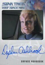 Star Trek Deep Space Nine Heroes & Villains Autograph Daphne Ashbrook