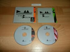 DEPECHE MODE - LIVE IN BERLIN (LIMITED EDITION 2 CD ALBUM - 21 TRACKS)