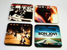 Jon Bon Jovi Album Cover Drinks Coaster Set #4