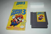 Super Mario Bros 3 Nintendo NES Video Game Complete in Box