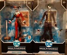 Mcfarlane Dc Multiverse- Joker and Harley Quinn Lot
