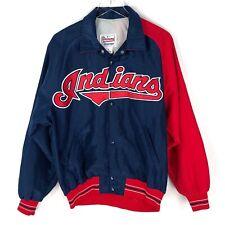 Vintage Diamond Starter Cleveland Indians 90s MLB Jacket Big Spellout Sz M USA