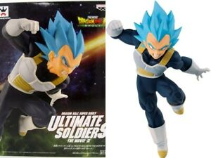 "Dragon Ball Super Saiyan God Super Saiyan Ultimate Vegeta 7"" Figure DBZ New MIB"