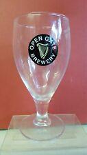 Scarce 1/2 Pint Guinness Open Gate Glass