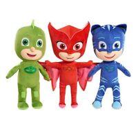 Disney PJ Masks Catboy Owlette Gekko Plush Doll Stuffed Animal Toy Gift SET Kids
