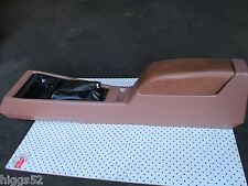 HOLDEN HZ GTS STATESMAN MANUAL BROWN CENTER CONSOLE HOUSING  HZ WB KINGSWOOD