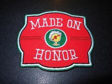 NARRAGANSETT Made On Honor Gansett Rhode Island PATCH craft beer brewery brewing