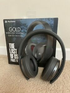 Limited Edition The Last of Us Part II Gold Wireless Headset - Great condition