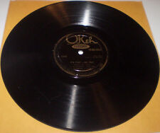 Shovels Jazz 78s Luis Russell and His Burning Eight Okeh 8656 Plays Great