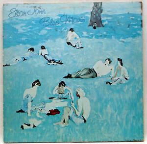 ELTON JOHN Blue Moves Double Vinyl LP Rocket ROSP 1 UK 1976