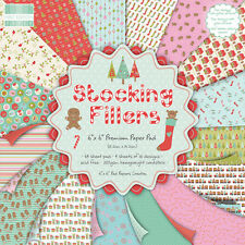 """First Edition Stocking Fillers Full Paper Pack (6x6"""" size)"""